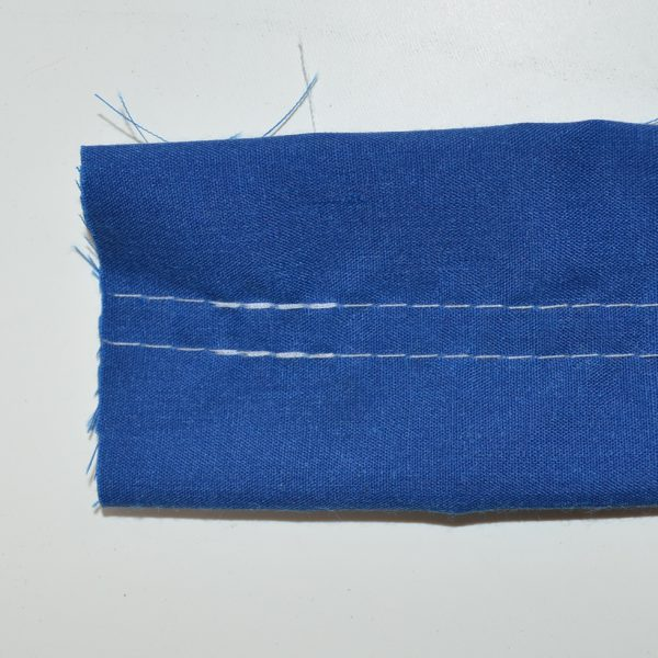 DOUBLE NEEDLE STITCH SAMPLE
